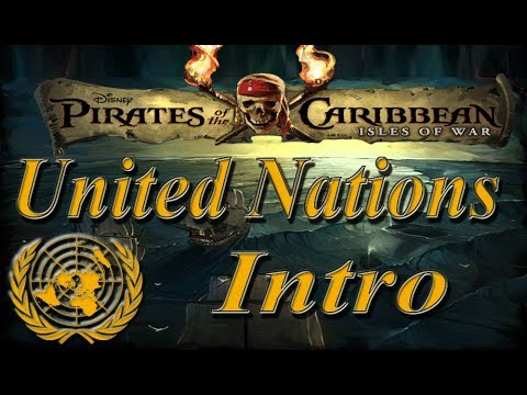 Pirates of the Caribbeans-Isles of Wars: United Nations Intro [HD]