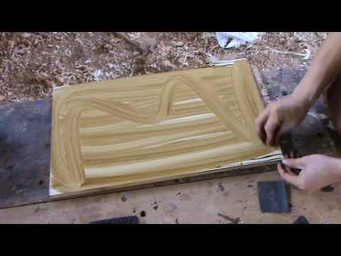 Tecnica de pintar imitacion madera