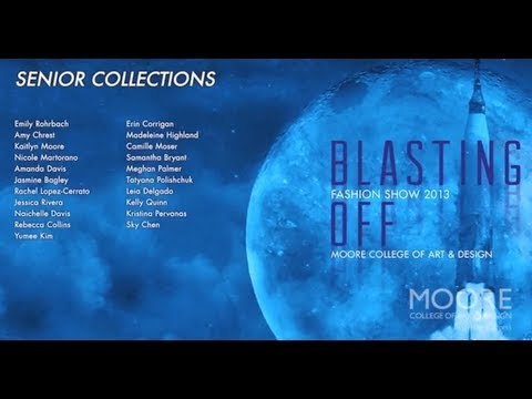 04 Senior Collections // 2013 Moore Fashion Show // Blasting Off!