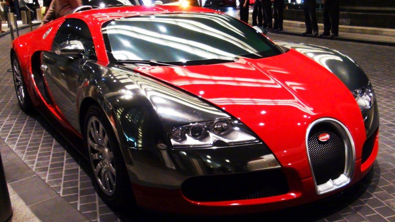 Red Chrome Bugatti Veyron Youtube