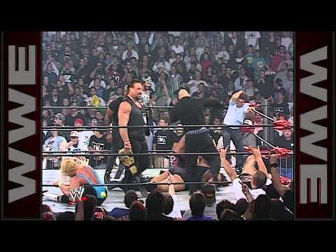 Sting battles the nWo on behalf of WCW
