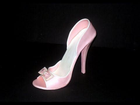 Cake Structure High Heel Shoe / Boot Sole icing & gum paste cutter