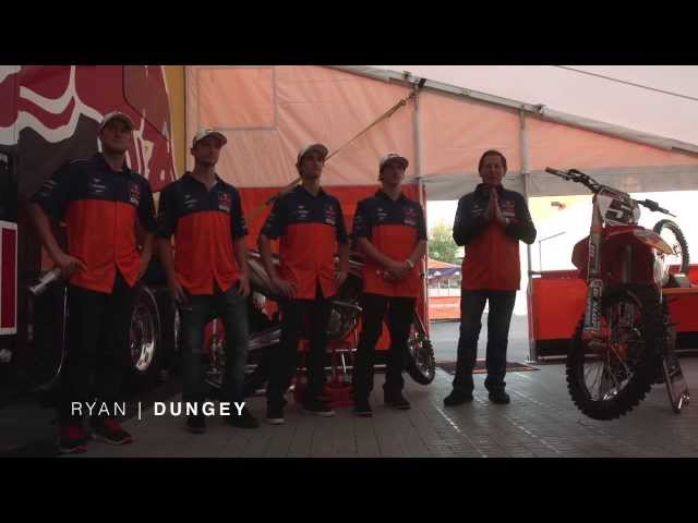 The Line Up - Red Bull KTM 2014 - TransWorld Motocross