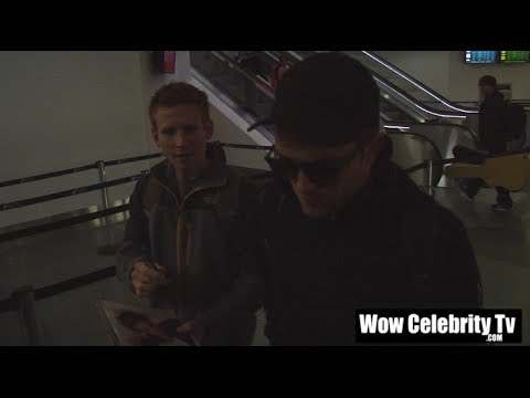 Robert Pattinson spotted arriving to LAX Airport