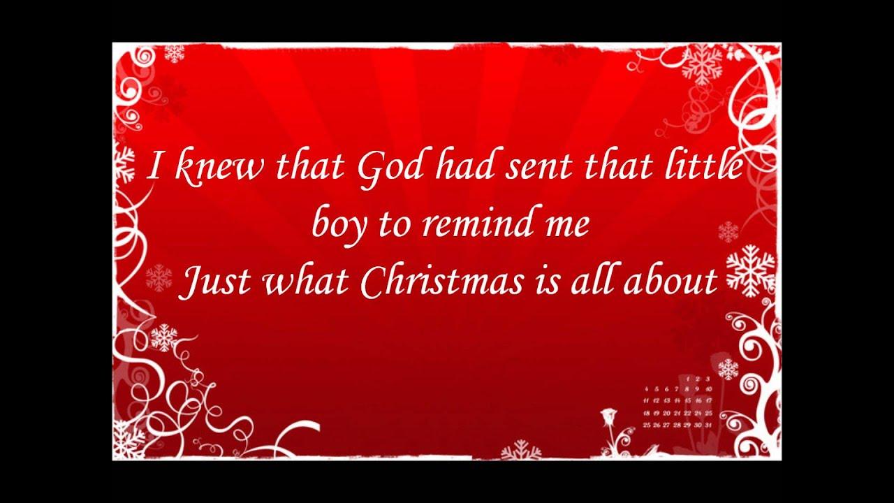 Bob Carlisle - Christmas Shoes Lyrics | MetroLyrics