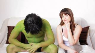 Dating The Incredible Hulk Girls Are Funny!