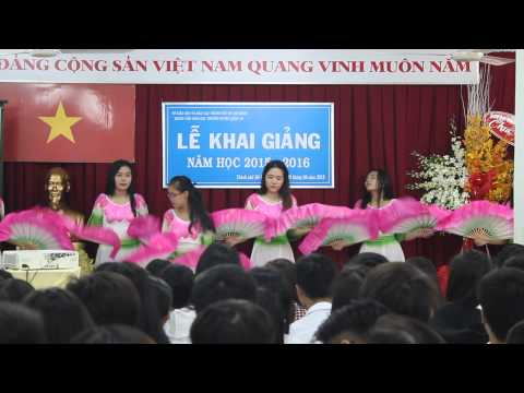 Múa quạt Hồn quê - Trung tâm GDTX Q10