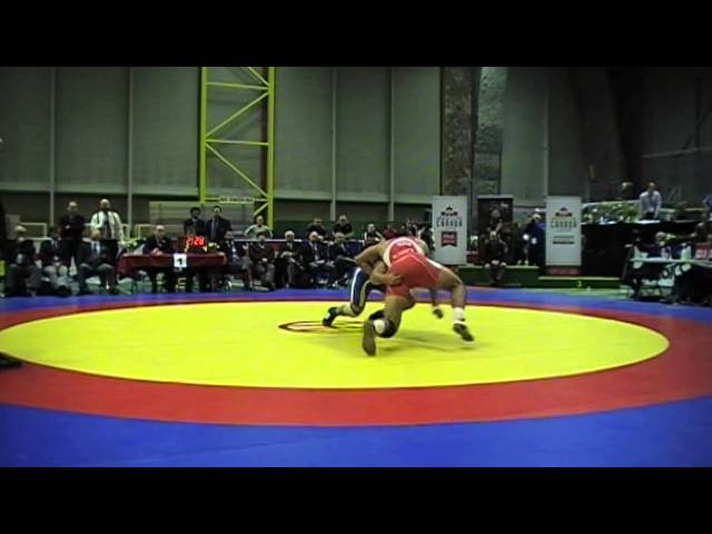 2014 Senior National Championships: 97 kg Final Ali Al-Rekabi vs Arjun Gill