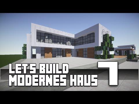 Minecraft :: Modernes Haus Bauen :: German/Deutsch #7