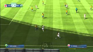 2014 FIFA World Cup, Xbox 360 Demo Gameplay, England Vs