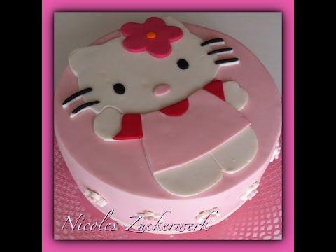 Hello Kitty Torte/Motivtorte/Fondanttorte/Cake