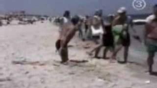 Caidas En La Playa