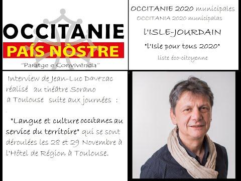 Interview de Jean-Luc Davezac candidat pour les municipales de l'Isle Jourdain