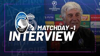 #UCL RO16 | Atalanta-Real Madrid | Gian Piero Gasperini: