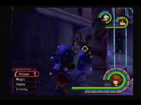 GamePlay Video: Kingdom Hearts 1: Hollow Bastion