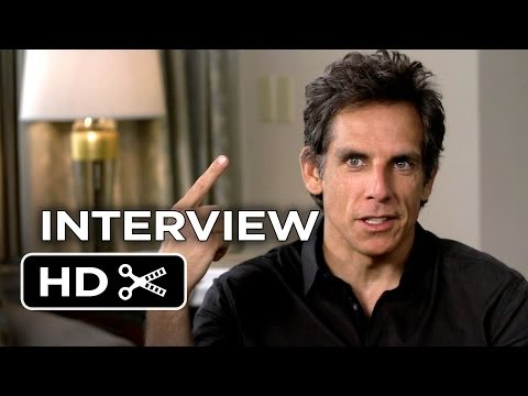 The Secret Life of Walter Mitty Interview - Ben Stiller (2013) - Kristen Wiig Movie HD