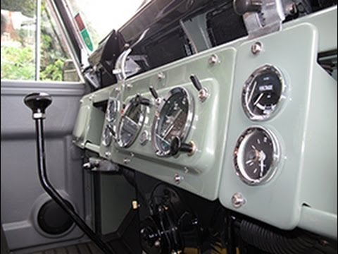 Restoring A Series IIA Land Rover