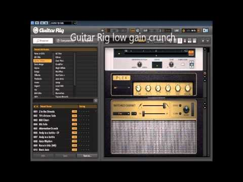 Guitar Rig 5 vs Amplitube 3 vs Revalver III.V, Part 1 : Marshall Plexi