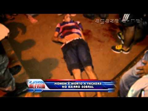 Homem é morto a facadas no Bairro Sobral 10 01 2014