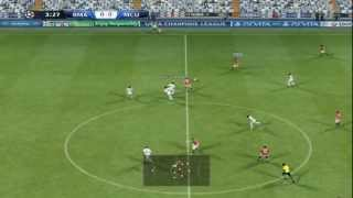 PES 2013 Real Madrid Vs Manchester United Predicción