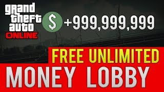 """""""GTA ONLINE FREE UNLIMITED MONEY"""" MOD LOBBY """"AFTER 1.07"""