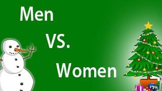 Men VS. Women (Gift Giving)