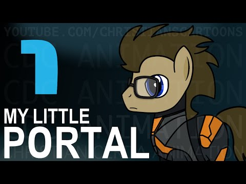 My Little Portal: Episode 1 (HD), Fantastic video . Ponies are in game Portal and thats just awesome ! :)