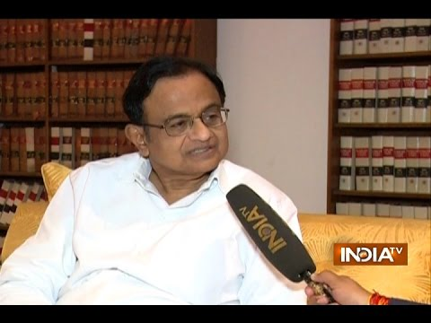 IndiaTV Exclusive: P. Chidambaram terms demonetisation as pointless move by