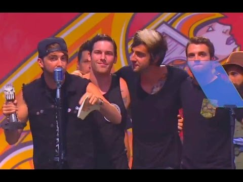 All Time Low win the Artist Philanthropic Award