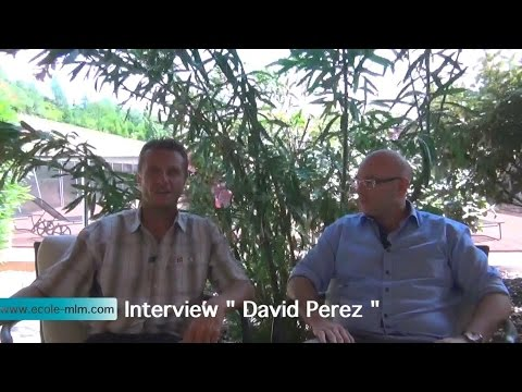 Ecole MLM Interview David Perez