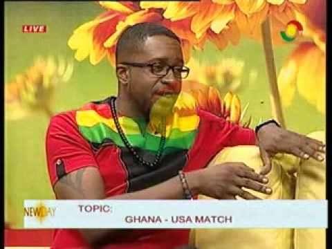 New Day  - DiscussThe Performance of Ghana against USA - 17/6/2014
