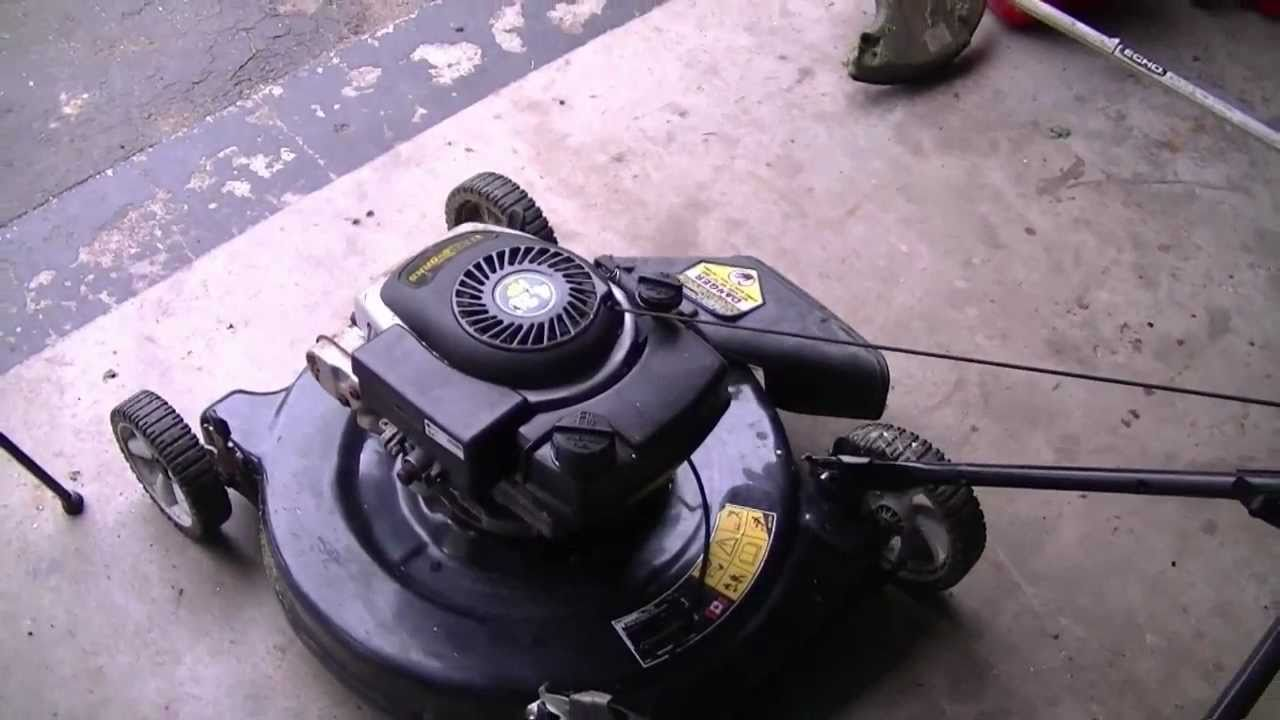 How To Replace A Lawnmower Brake Cable Youtube