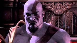 God Of War 3 Kratos VS Zeus (Father Son Epic Showdow 1
