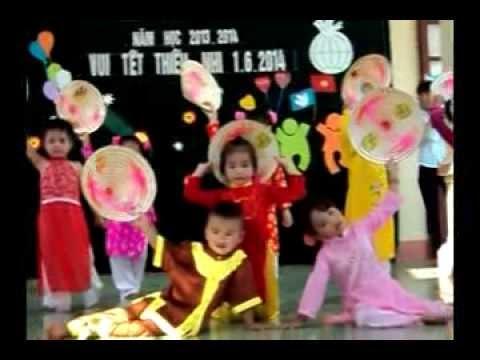 Múa : Cánh đồng tuổi thơ - Lớp 3T B Trường mầm non Yên Thắng