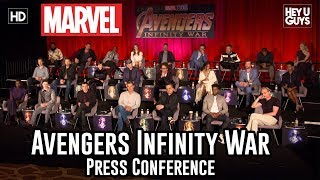 Avengers: Infinity War Press Conference