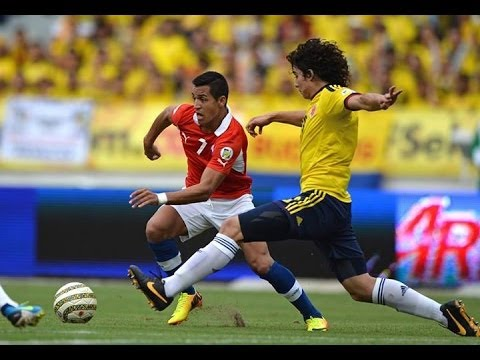 Colombia 3 - 3 Chile / 11-10-2013 / Eliminatorias Sudamericanas / Fecha 16