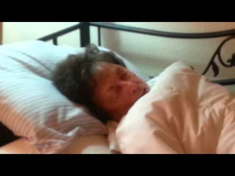 Sleep talking grandma