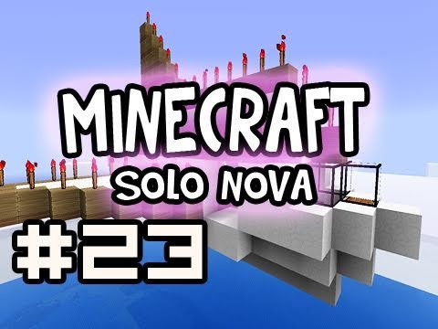 Minecraft Solo: Air Canada Down Survival - Roof Build w/ Nova Ep.23 (Singleplayer Survival)