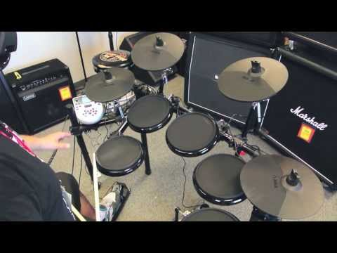 Hình ảnh trong video Alesis DM7X Kit test unboxing