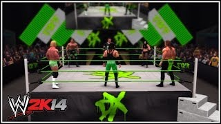WWE 2K14: D-Generation X 6 Man (Well, 5 Man & 1 Woman