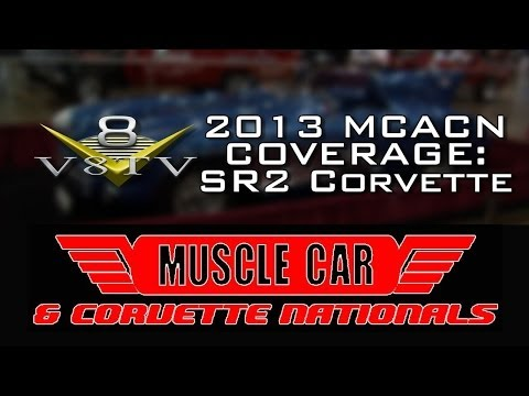2013 Muscle Car And Corvette Nationals Coverage: 1956 Corvette SR2 Rac