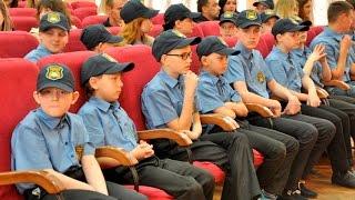 В університеті відбулося відкриття освітнього процесу за програмою «Кадети поліції»