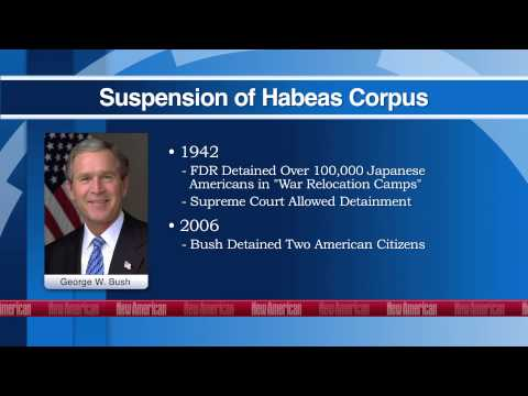 How the NDAA Suspends Habeas Corpus