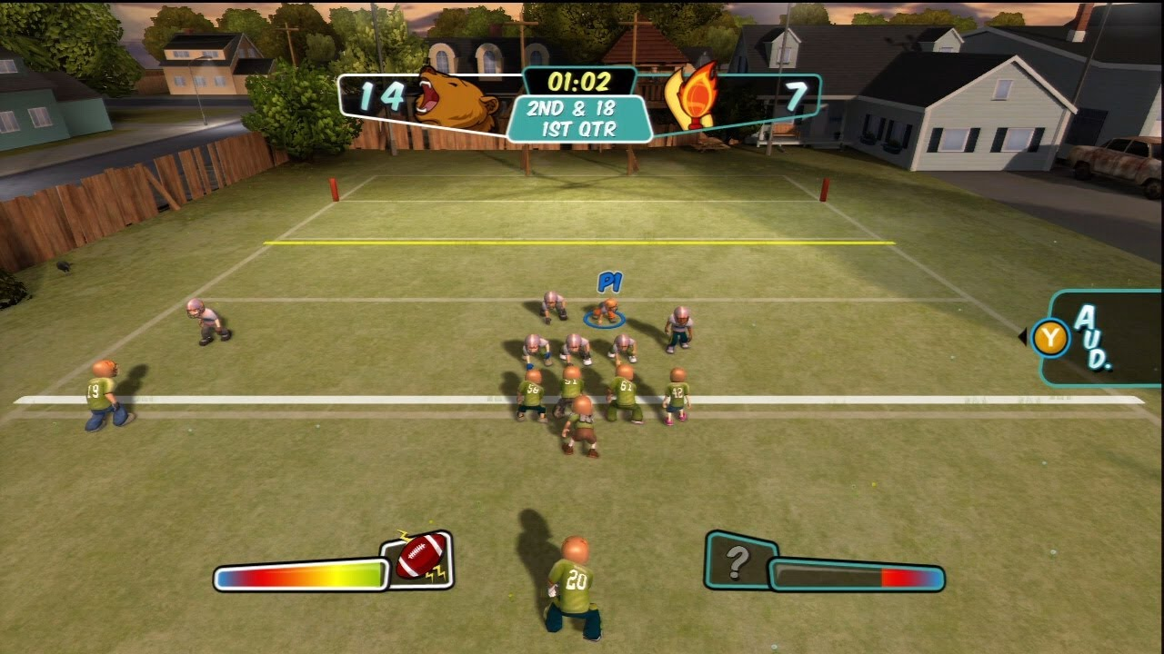 backyard football prepare for battle youtube