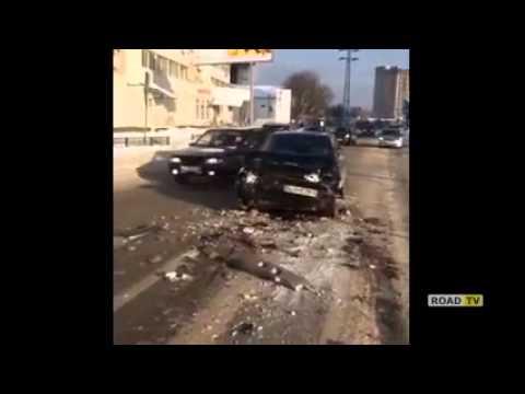 Виктория Боня попала в аварию под Москвой.