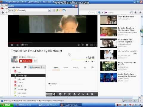 Hướng dẫn Download video 3gp trên Youtube