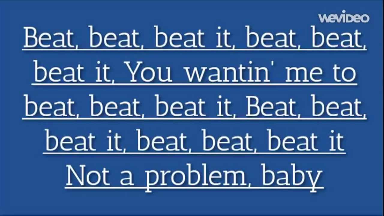 beat the pussy up lyric