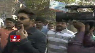 Allu Arjun casts vote in Jubilee Hills