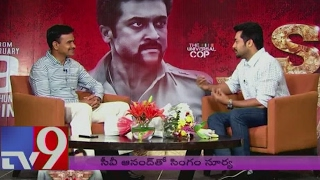 Real Cop CV Anand interviews Singam Suriya