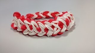How To Make Heart Bracelet Design Rubber Band Heart